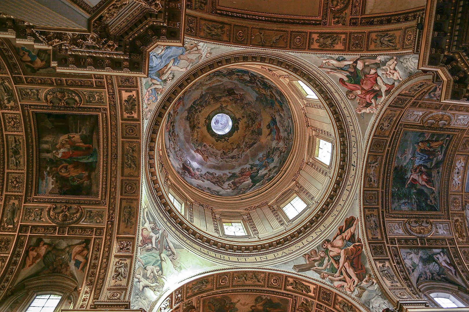 Dome of an unknown basilica