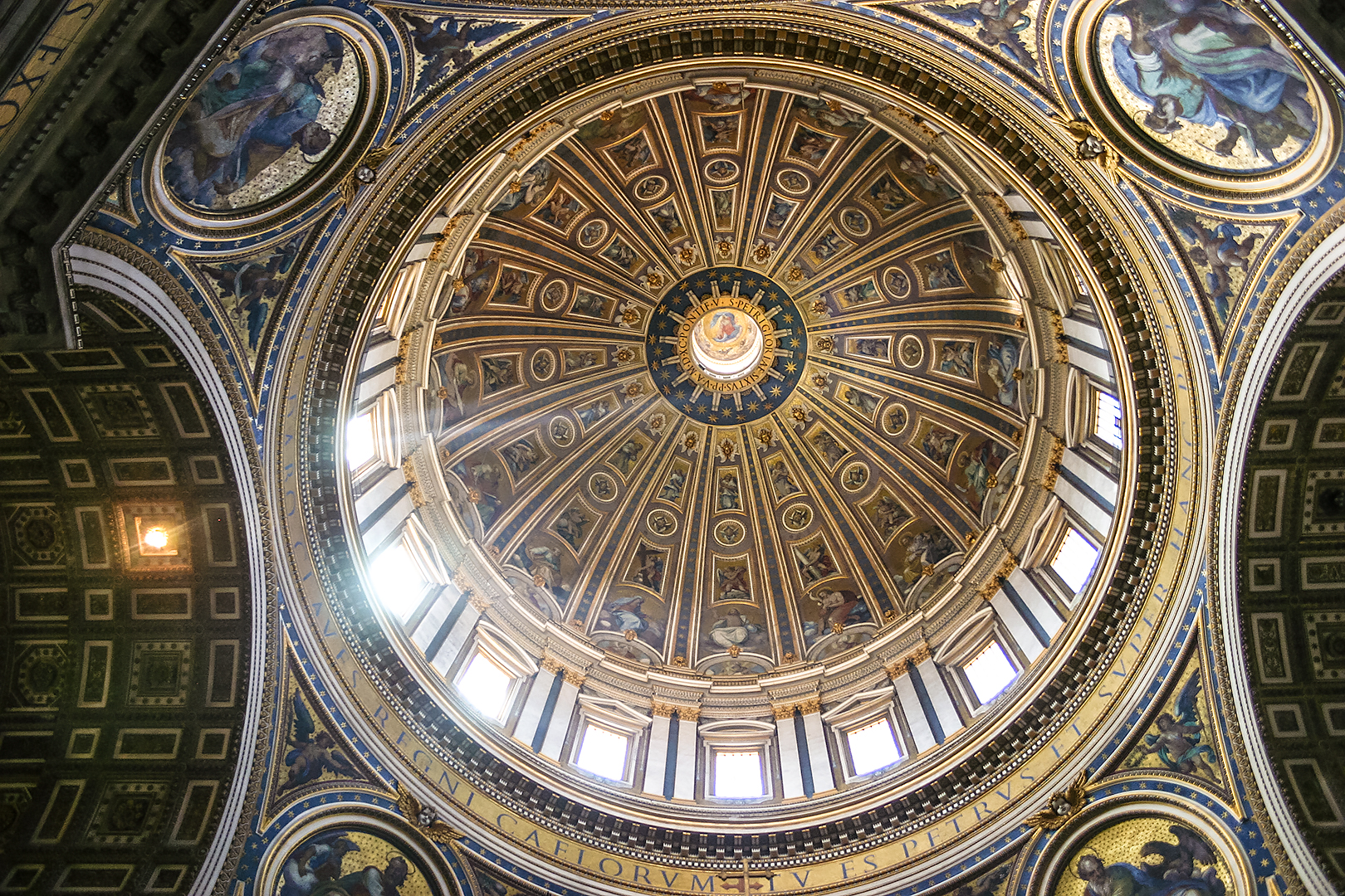 The dome in Saint Peter's Basilica