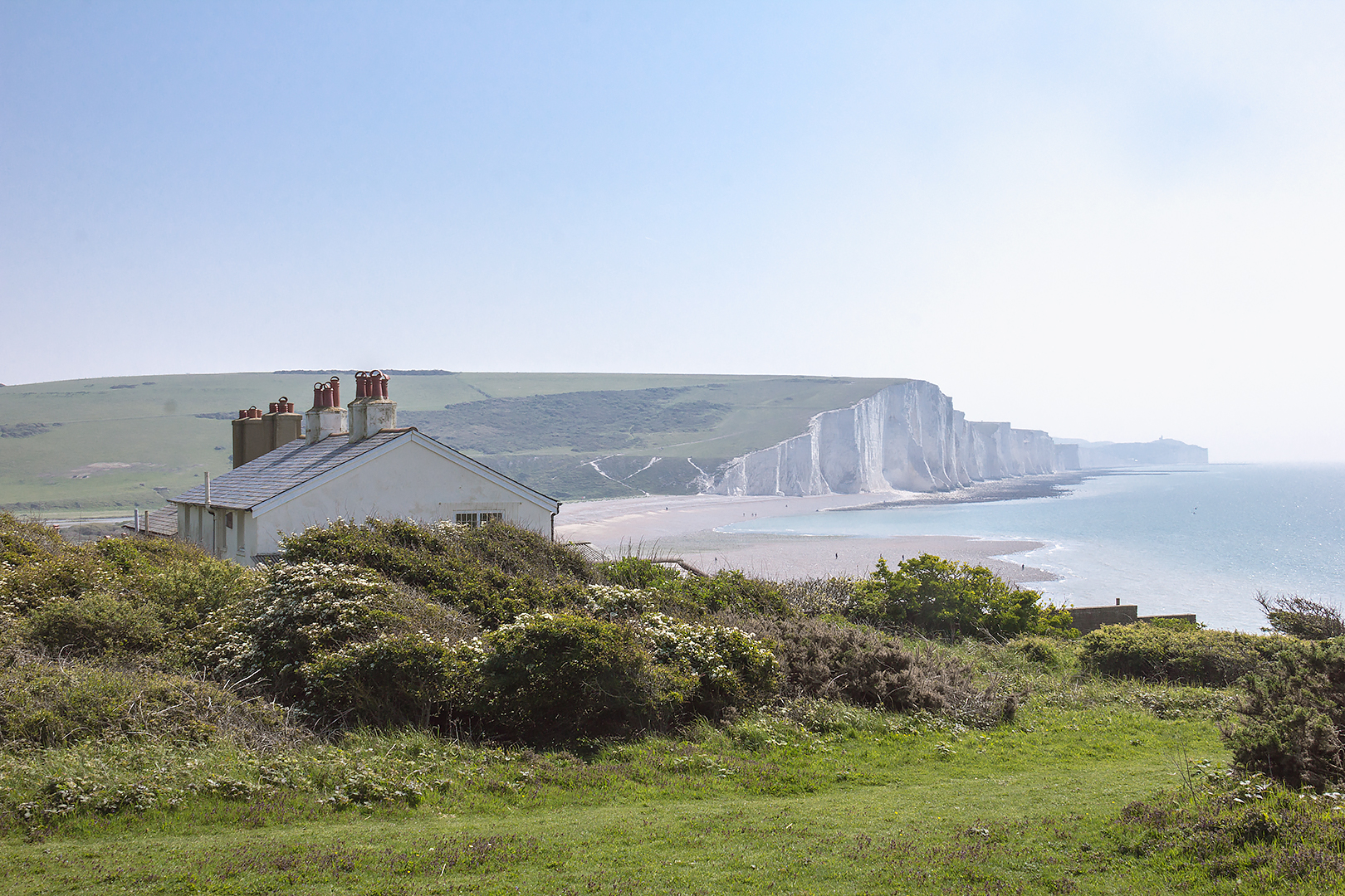 The coastguard cottages, seven sisters walk