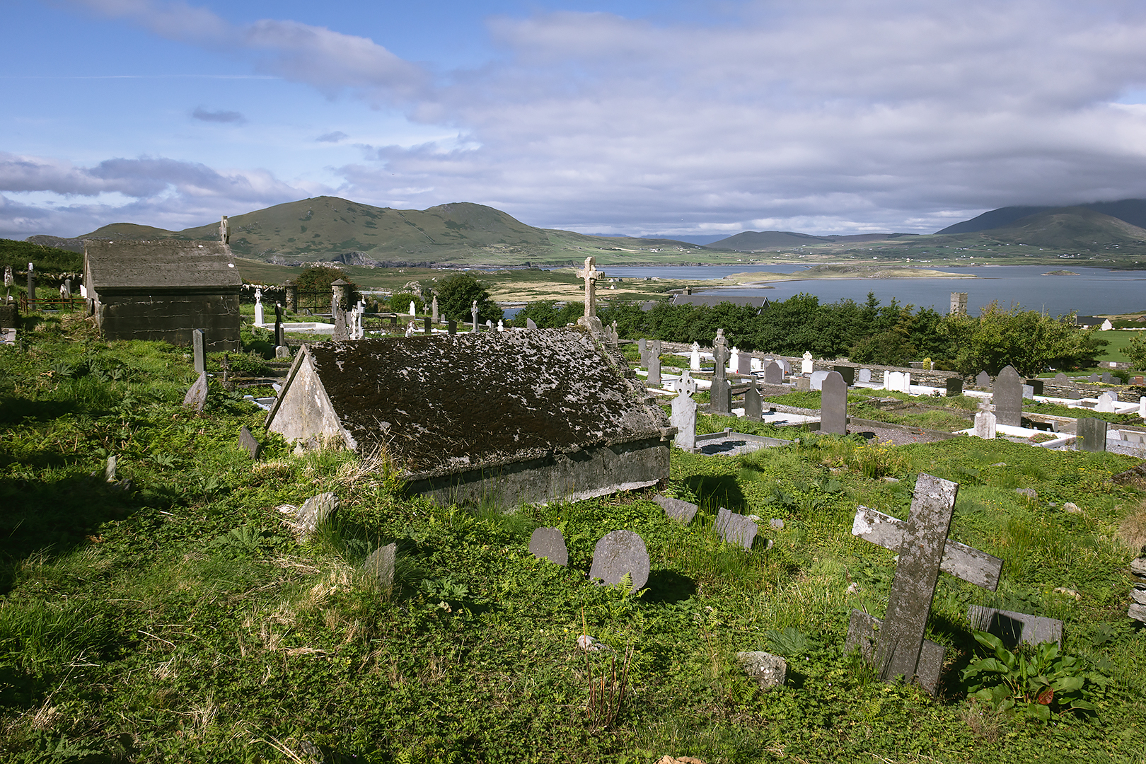 Kylemore burial ground, Valentia Island