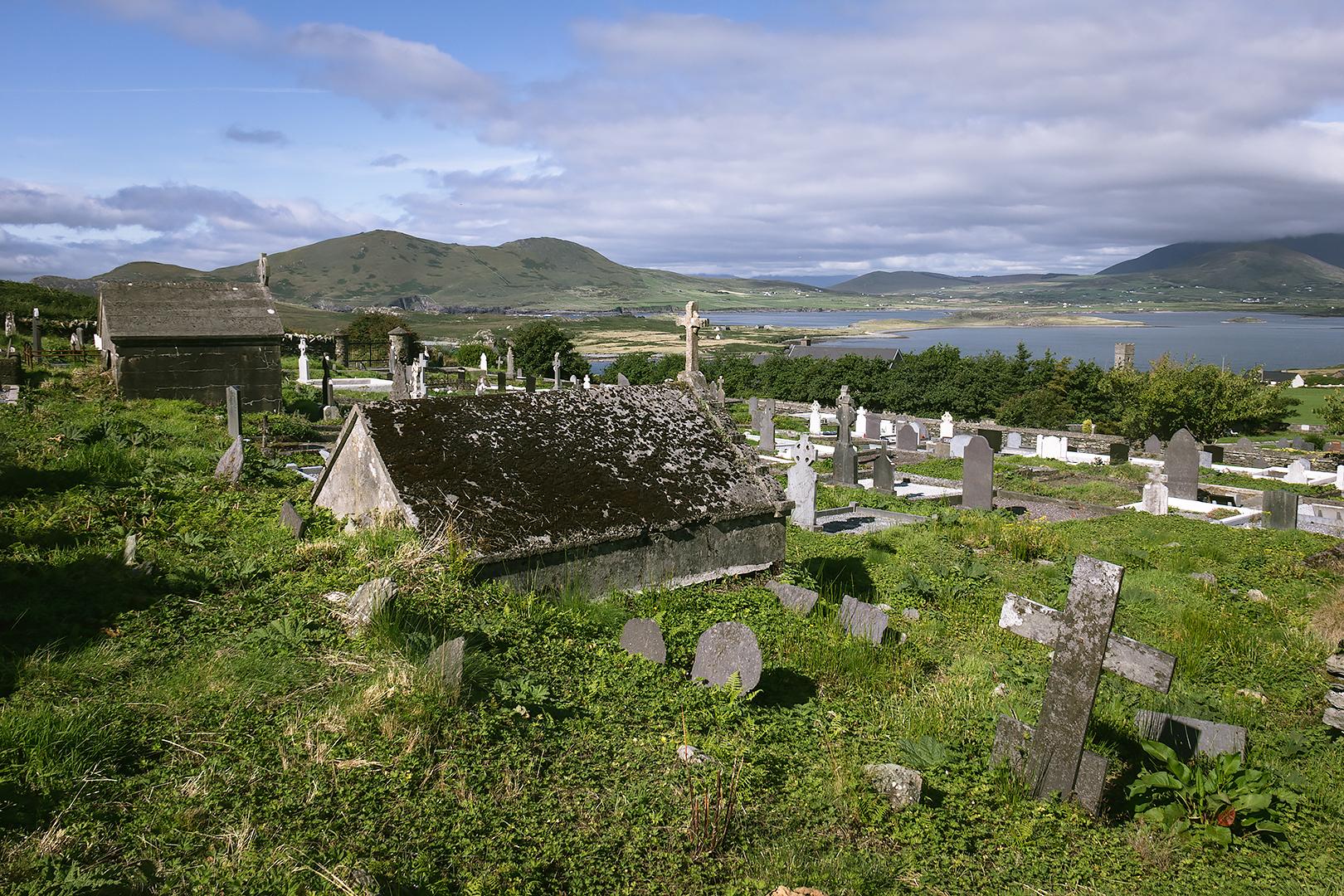 Kylemore burial ground, Valentia Island
