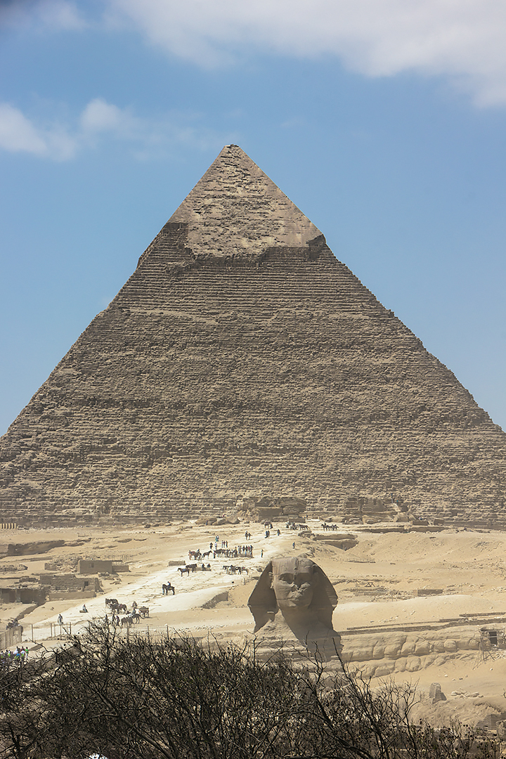 The Great Pyramid and the Sphinx of Giza
