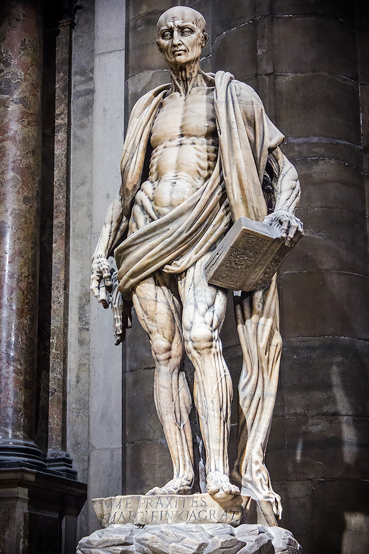 Saint Bartholomew Flayed by Marco d'Agrate