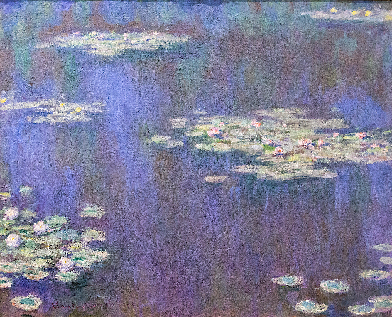 Waterlilies, 1908, Monet