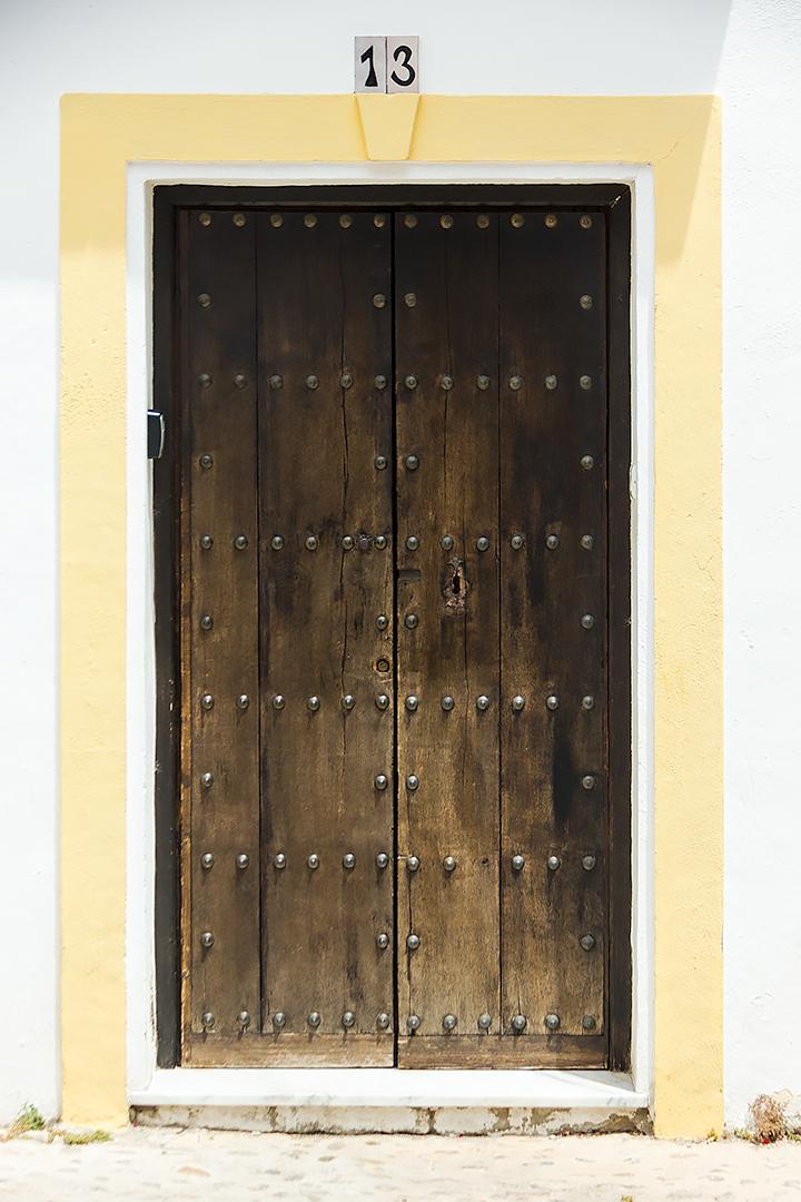 A door in Ronda