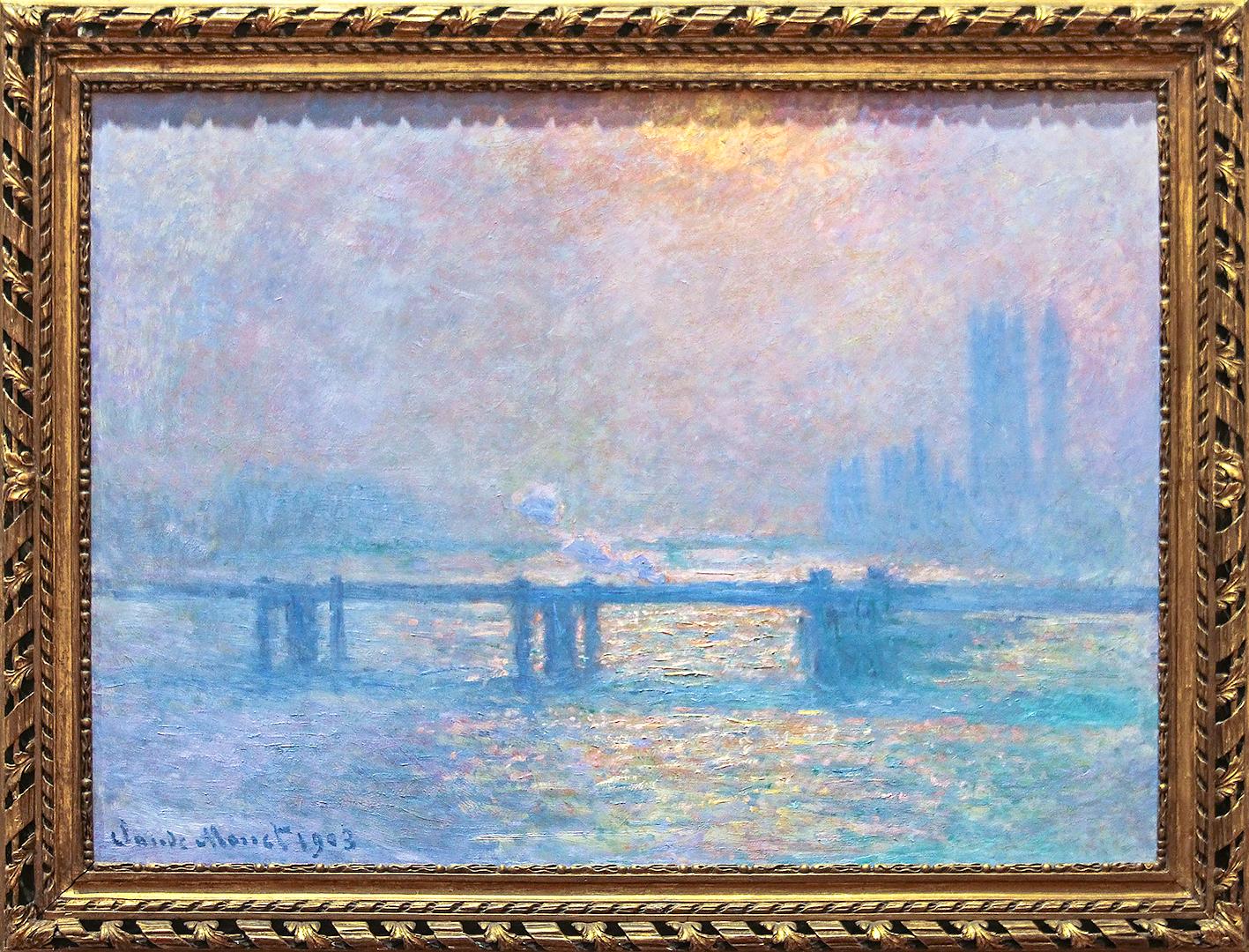 Charing Cross Bridge 1903 by Monet