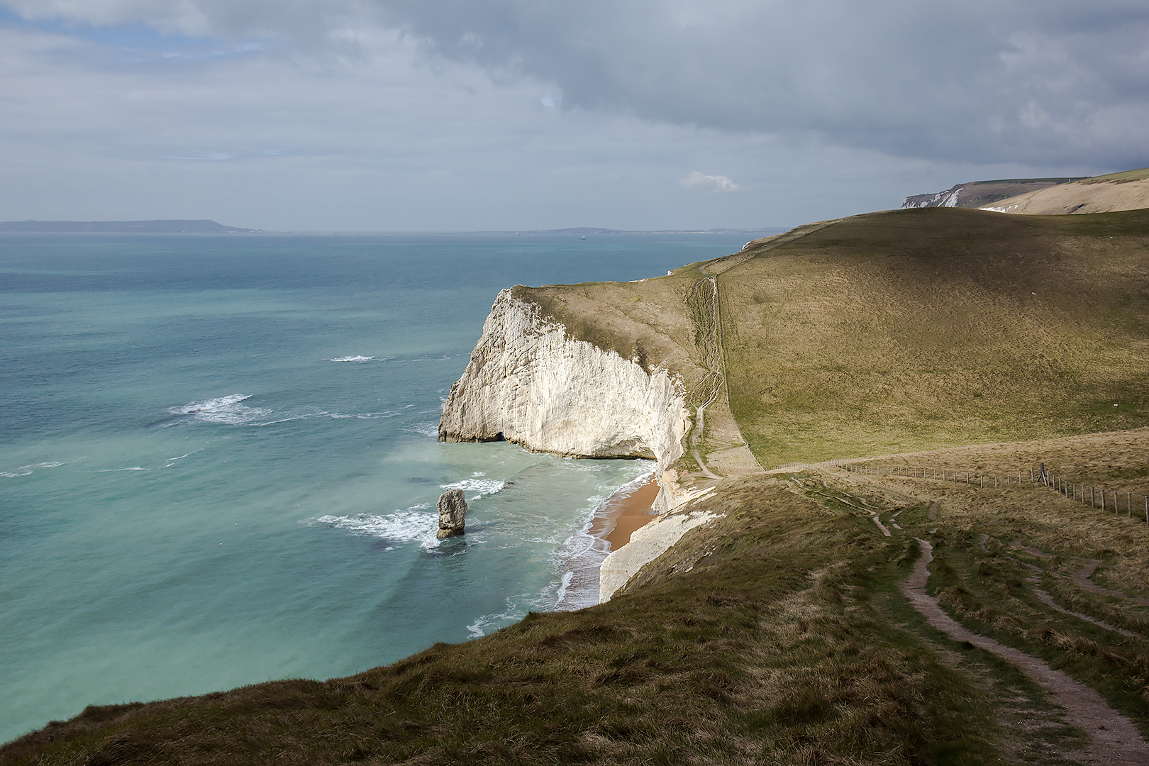 The landscape near Durdle Door