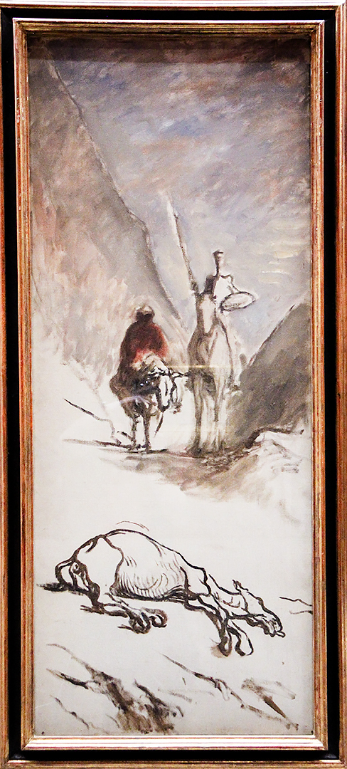 Don Quichotte et la Mule Morte by Honoré Daumier