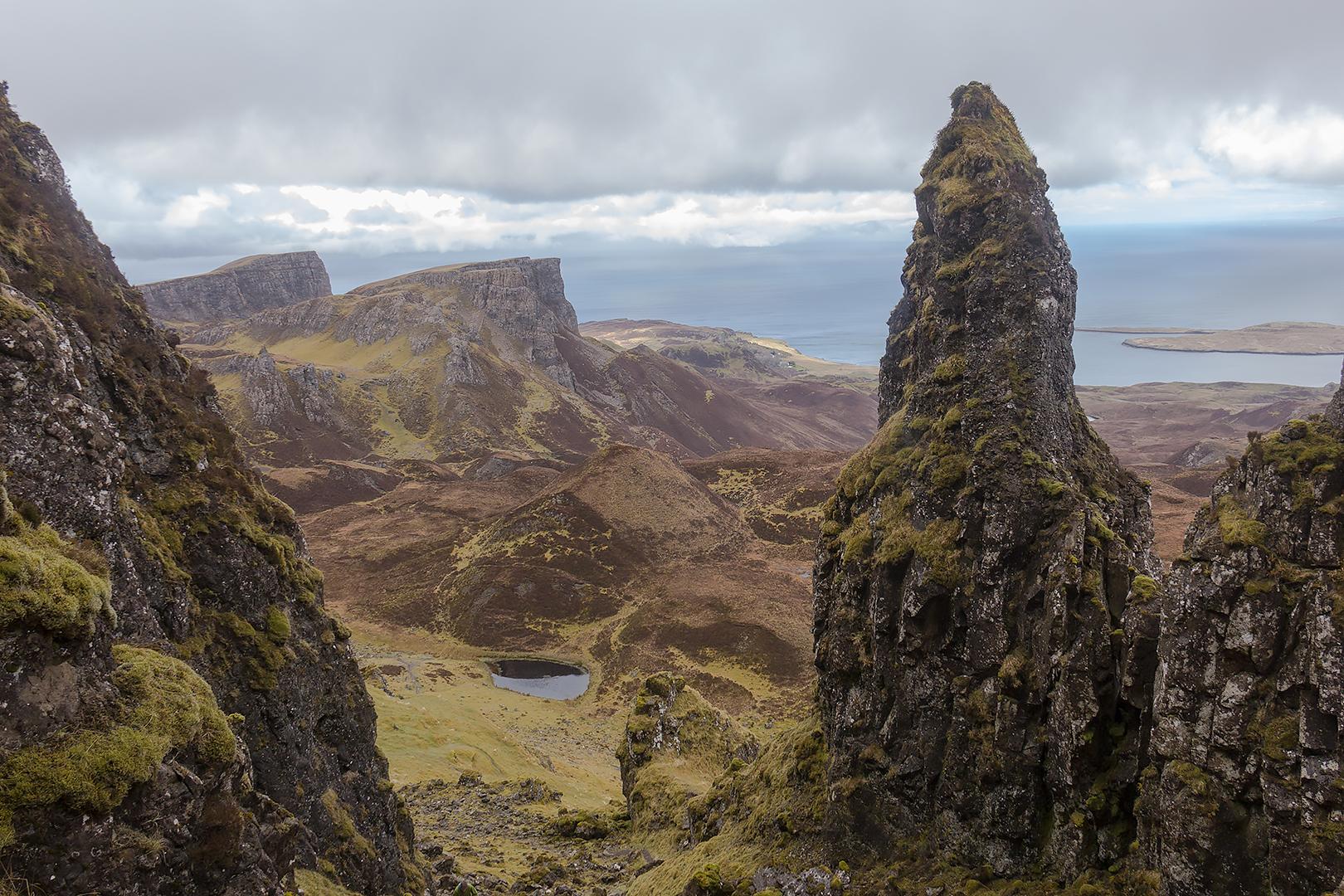 Leac nan Fionn or Fingal's Tomb
